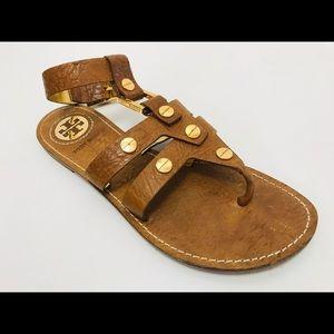 Tory Burch Cognac Sandal